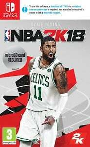 NBA 2K18 Nintendo Switch Game 3+ Years £3.99 delivered @ Argos eBay