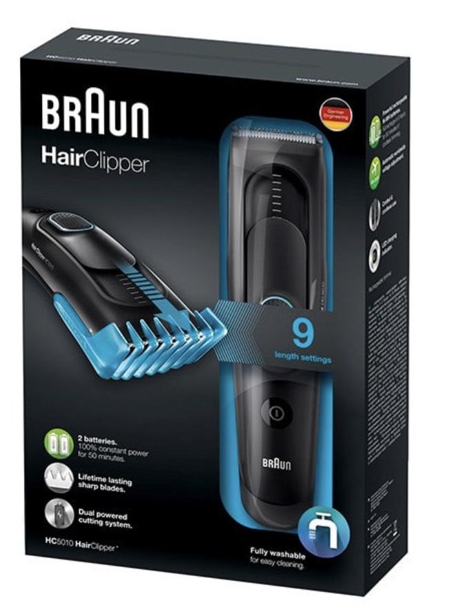 Braun Hair Clipper HC5010 £19.99 Superdrug