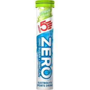 HIGH5 ZERO Hydration Tablets (20 Tabs) £3.49 + £2.99 p&p Wiggle