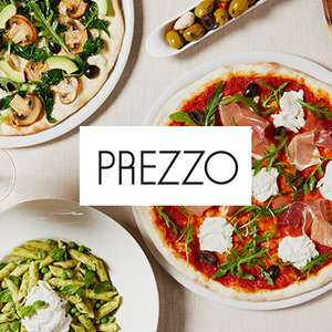 50% off Mains at Prezzo with vouchercloud