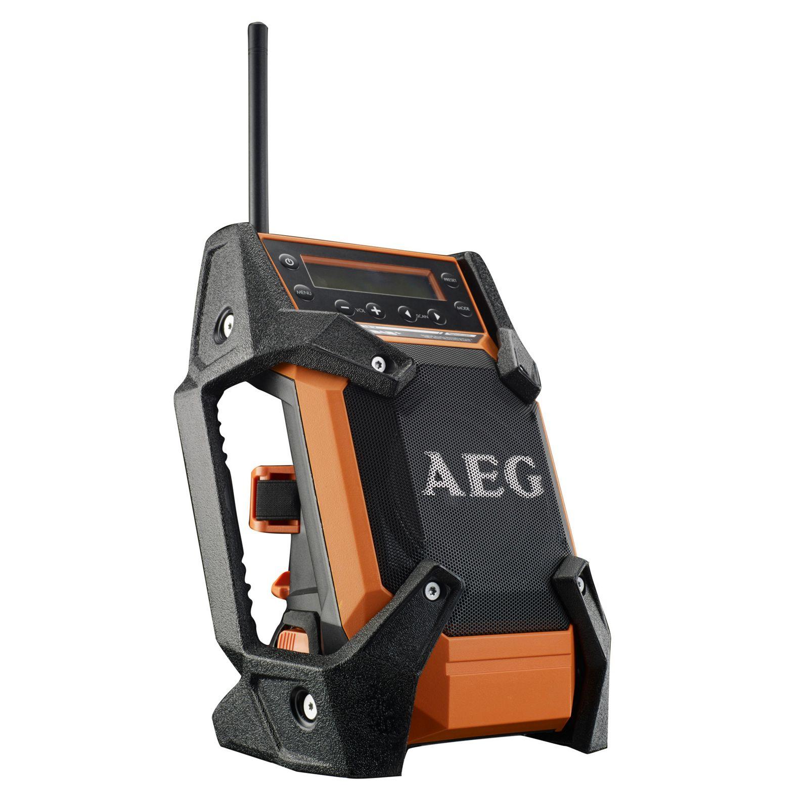 AEG 12-18V DAB+ Radio with Bluetooth Bare Unit (No Battery) £44.10 at Homebase Free C&C
