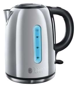 Russell Hobbs 20444 Pennine 2 Illuminating Kettle - St Steel now £14.99 free click and collect at Argos
