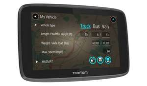 TomTom GO Professional 520 5 Inch EU Traffic Truck Sat Nav now £199.99 free click and collect at Argos