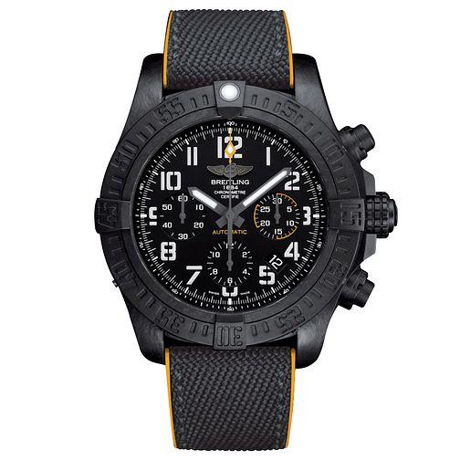 Breitling Avenger Hurricane Men's Black Resin Strap Watch @ £4700 / £4230 with code @ Ernest Jones