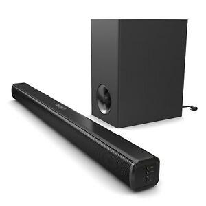 Majority TV 140 Watt Sound Bar Subwoofer with Bluetooth Optical Audio - £34.95 at velocityelectronics eBay