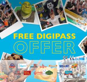 Merlin Annual Pass with free Digipass offer from £109 (Renewals) / £139 (New)