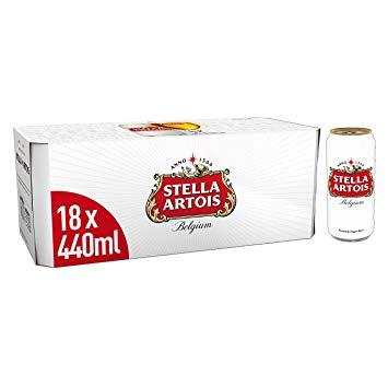 1x18 440ml Stella Artois Cans £11.99 instore @ Aldi