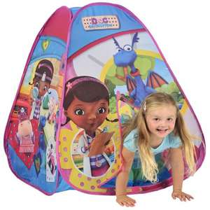 Disney Doc Mcstuffins Pop Up Adventure Igloo Play Tent Toy Playhouse Wendy House  -  £7.99 Delivered @  eBay - pink_and_blue_gifts1