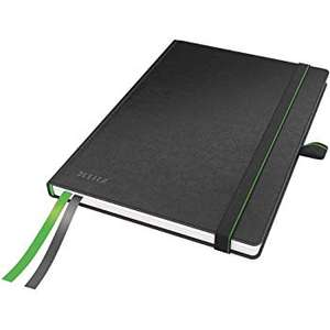 Leitz Premium A5 Ruled Hardback Notebook with Bookmarks £6.14 (Prime) / £10.13 (non-Prime) with Voucher at Amazon