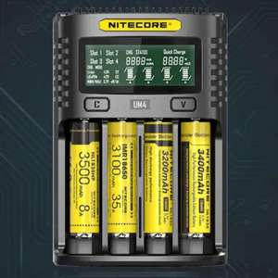 Nitecore UM4 Intelligent USB Battery Charger £17.94 @ GearBest App