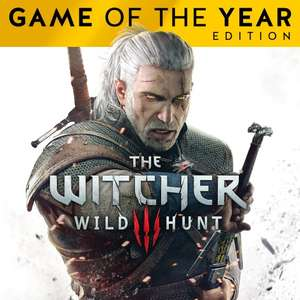 The Witcher 3: Wild Hunt – Game of the Year Edition PS4 £10.49 @ PSN Store