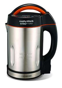 Morphy Richards Soupmaker 48822 Stainless Steel Soup Maker @ Amazon £34.99 incl p&p.