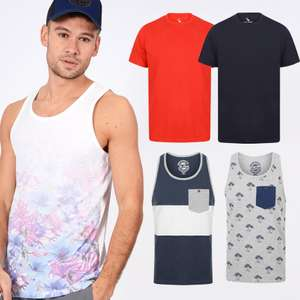 3 for £10 on T-Shirts & Vests - Mix & Match from 26 styles @ Tokyo Laundry (+ £1.99 delivery)