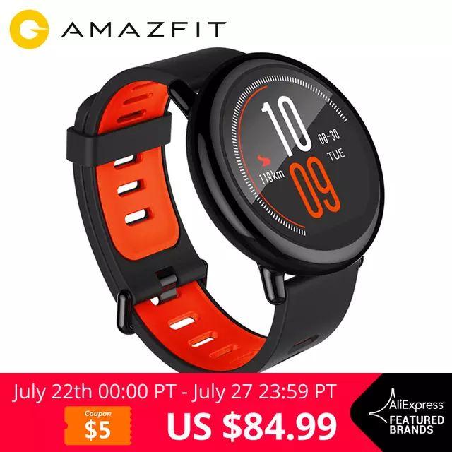 [English Version] Xiaomi Huami Watch AMAZFIT Pace Bluetooth £69.39 @ SHENZHEN OKQI TECHNOLOGY CO., LTD./Aliexpress