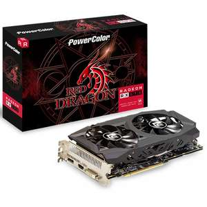 PowerColor Radeon RX 590 8GB Red Dragon Graphics Card £189.89 at Overclockers (Free  game pass+Resident Evil 2 game)
