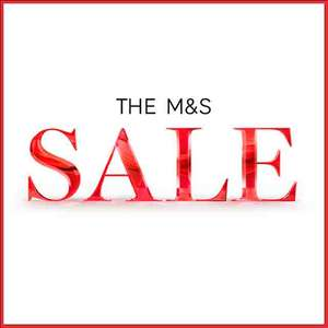 Marks and Spencer  upto 90% off selected items now live