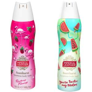 Imperial Leather Foamburst Raspberry or Melon 99p at Lidl