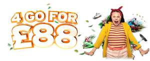 Drayton Manor Tickets - 4 for £88 When Booked Online (at Least 1 day Before Attending)