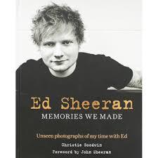 Ed Sheeran Memories We Made by Christine Goodwin (Foreword By John Sheeran), Hardback, £1 @ Poundland, Union Street, Glasgow