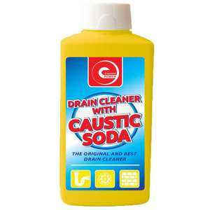 500ml Drain Cleaner With Caustic Soda 80p @ Poundstretcher