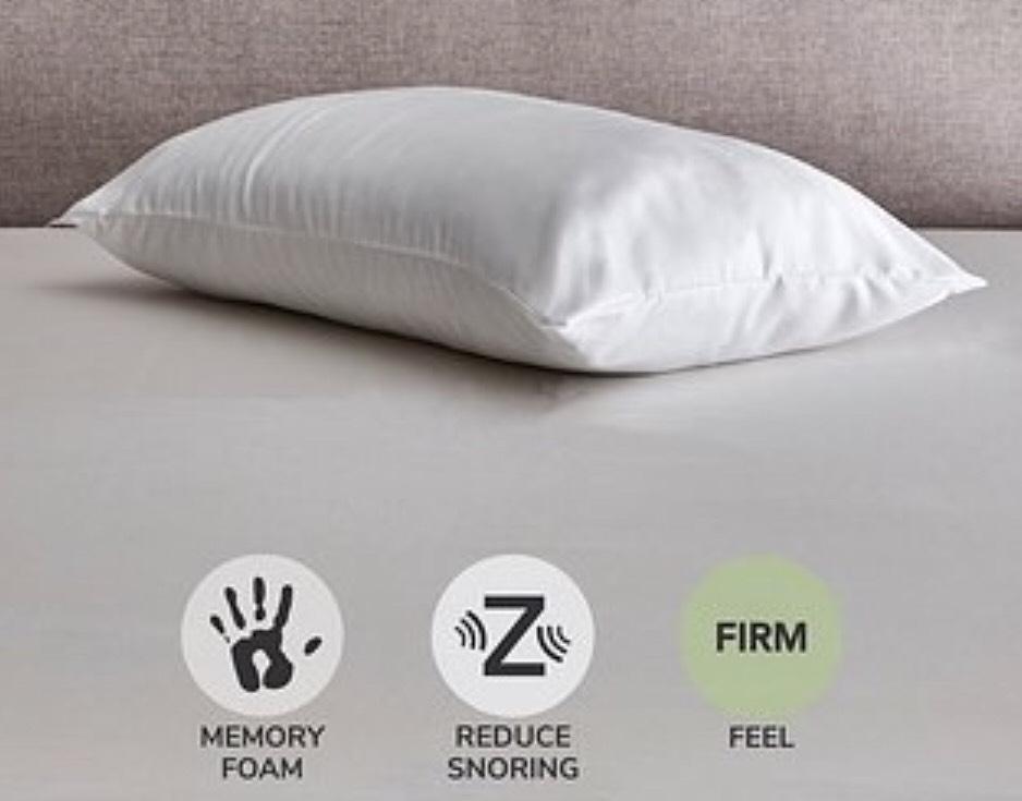 Fogarty Sleep Better Anti Snore Firm-Support Pillow £7 Dunelm free c&c