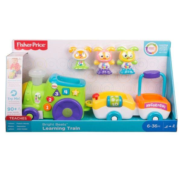 Fisher price Bright beats train £12.00 plus other toys Argos