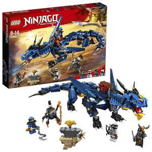 LEGO 70652 NINJAGO Stormbringer £17.50 (Prime) / £21.99 (non Prime) at Amazon