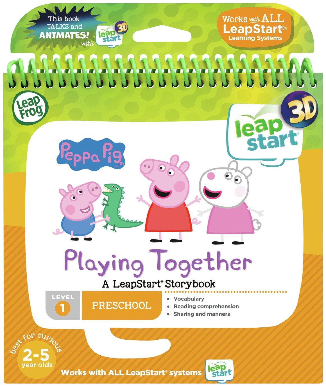 Leapfrog Leapstart 3D Peppa Pig Story Book £4 @ Argos