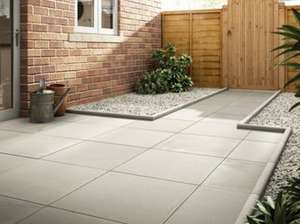 Marshalls Richmond Smooth Natural 600 X 600 X 38 Mm Paving Slab £6.50 (Free C+C / £7.95 Delivery) @ Wickes