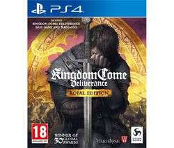 Kingdom Come: Deliverance - Royal Edition (PS4/Xbox One) £24.97 Delivered @ Currys