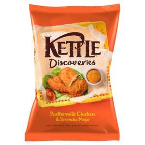 Kettle Discoveries 130g 89p in Home Bargains