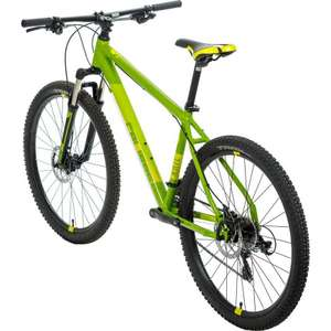 Calibre Rail Mountain Bike half price AND 15% off: just £169.15 with code at Go Outdoors.