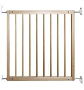 BabyDan No Trip Beechwood Safety Gate - Free delivery with Prime