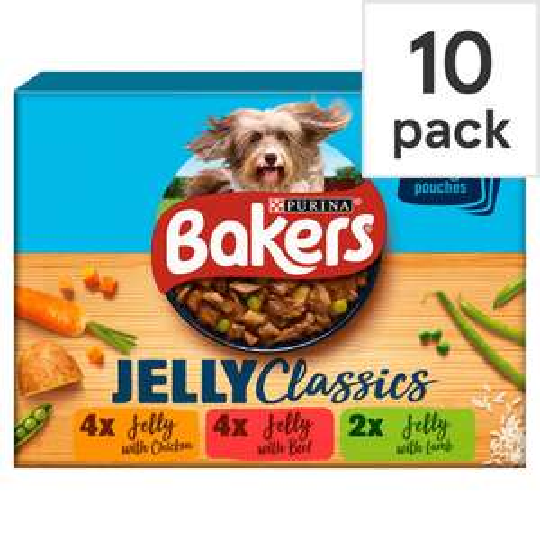Bakers  Home Classics dog food 10pk £2.50 @ Tesco (+ upto £4 cashback via Purina)