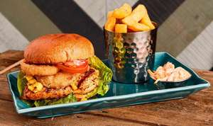 2 Burgers for £10 @ Harvester for Students via UniDays