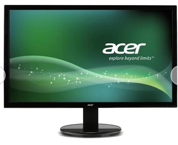 Acer K222HQLBID 21.5 Inch Full HD LCD Monitor - £69.99 @ Argos (Free C&C)