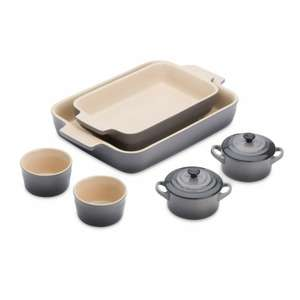 Le Creuset Stoneware Cookware Set, Flint £79.99 @ Amazon/Prime