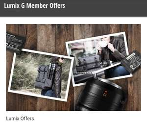 Up to 40% Off Selected Panasonic Lumix G Lenses & Accessories
