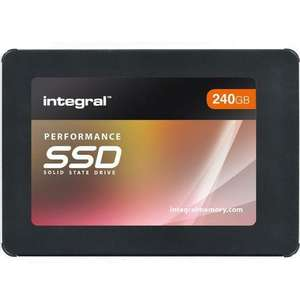 Integral 240GB P Series 5 SATA III SSD Drive - 560MB/sFor £22.04 with Code @ Mymemory