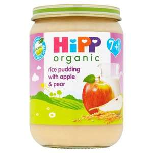 Baby Food - Hipp Rice Pudding with apple and pear 160g - 20p instore at SAINSBURYS