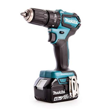 Makita DHP483RMJ Combi Drill, 18 V, Blue - £166.34 at Amazon