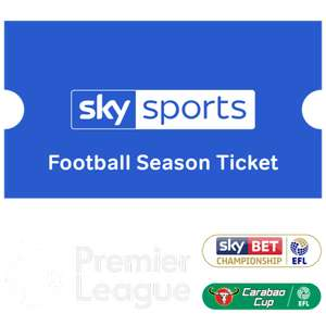 Sky Sports 10 Months Season Ticket £199 (eqiv to £19.90 per month) @ NowTV