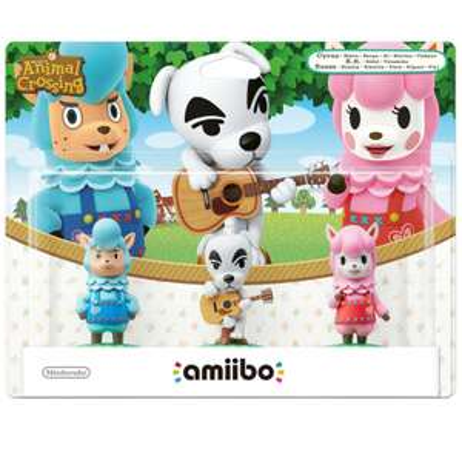 Nintendo amiibo Smash 3 Pack - Reese, K.K. Slider, Cyrus (Nintendo Wii U/3DS) £4.99 Delivered @ Argos via eBay