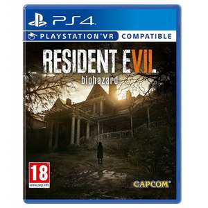 USED: Resident Evil 7 Biohazard (PS4/PSVR) for £7.99 Delivered, Sold by Geekstoredotcom @ Amazon UK