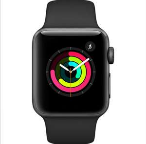 Apple Watch Series 3 - 38mm Space Gray Aluminium Case with Black Sport Band  £187.20 @ Eglobal