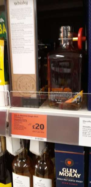 Allt-A-Bhainne single malt whisky down to £20  @ Sainsburys
