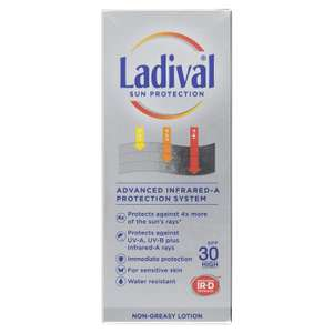 Ladival Sun cream all reduced to £5 at Boots up to 75% off