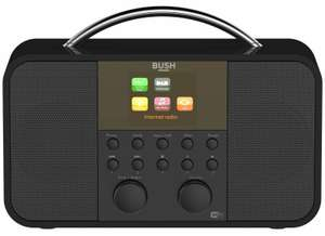 Bush LCD Display DAB RDS Internet Radio 10W RMS - Black - £17.99 delivered @ Argos / eBay