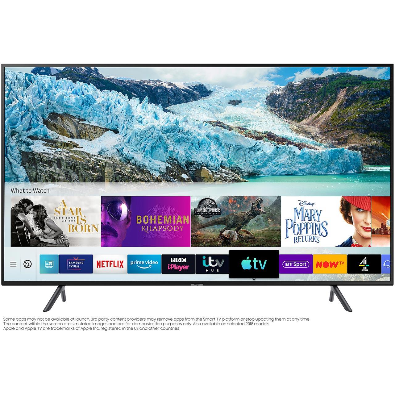 "Samsung UE50RU7100 50"" Smart 4K Ultra HD TV with HDR10+, Apple TV, Alexa, Google Home and Slim Design - £411.40 (With Code) @ AO"