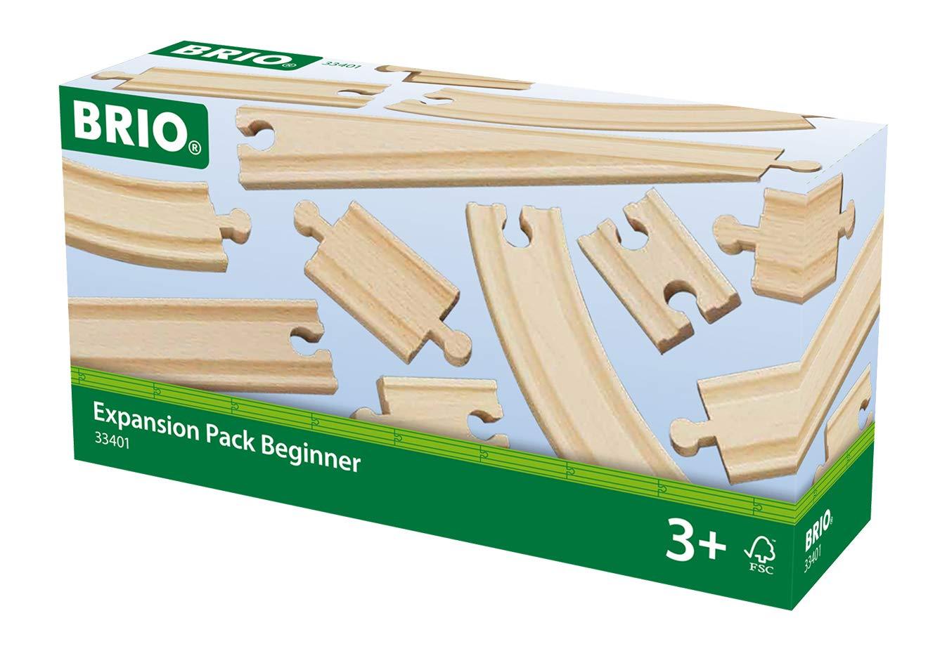 BRIO World Railway Track Expansion Pack - Beginner £5.10 @ Amazon (Add-on)